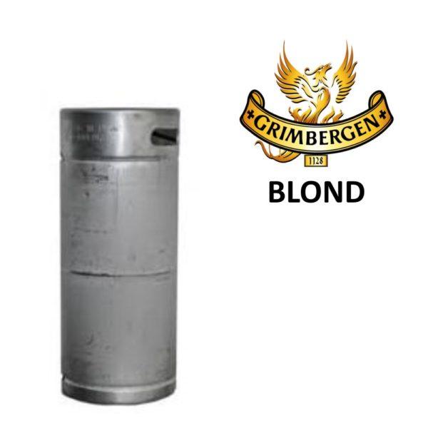 Grimbergen Blond fust 20 liter
