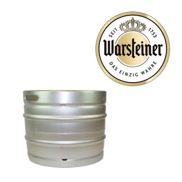 Warsteiner Pils fust 30 liter