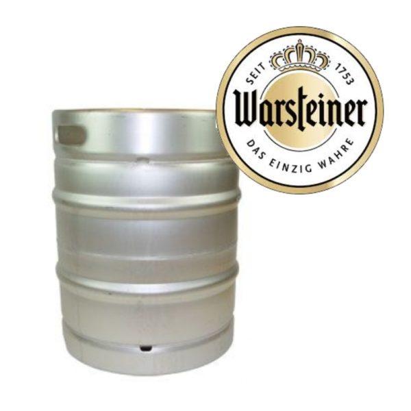 Warsteiner Pils fust 50 liter