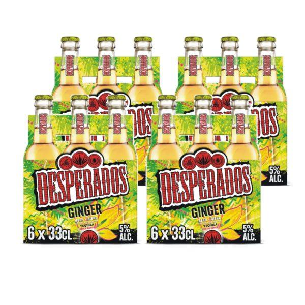 Desperados Ginger 24 x 33cl