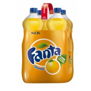 Fanta Orange PET 4 x 150cl (DE)