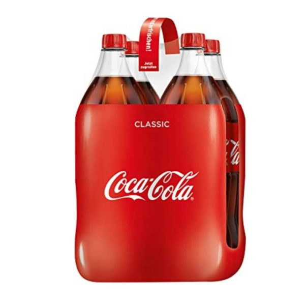 Coca Cola PET 4 x 150cl (DE)