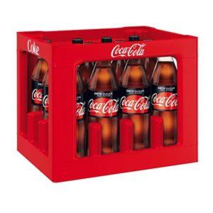Coca Cola Zero 12 x 100cl (DE)