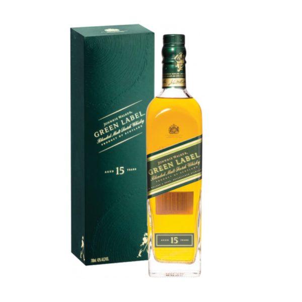 Johnnie Walker Green 15Y 0.70 43%