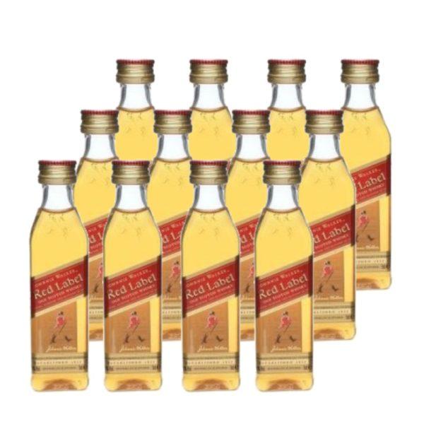 Johnnie Walker Red MINI 12 x 0.05 40%