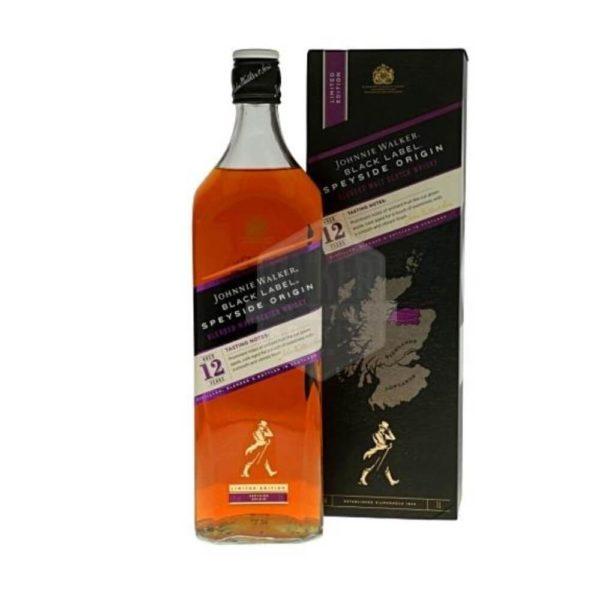 Johnnie Walker Black Speyside Origin 1.00 40%
