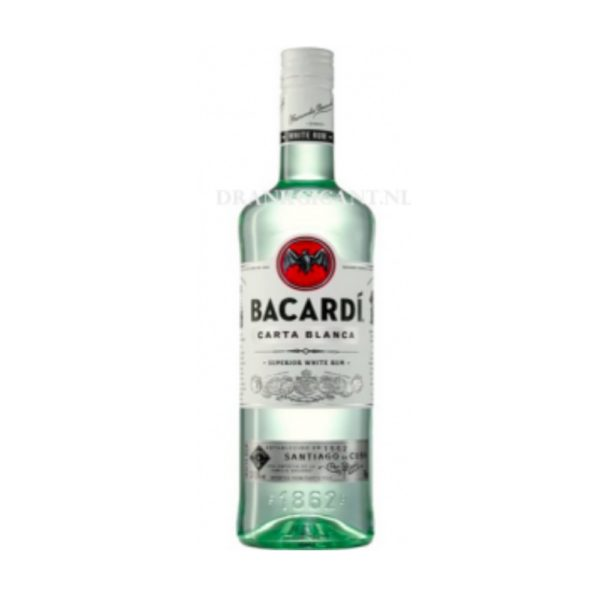 Bacardi Carta Blanca 0.70 37.5%