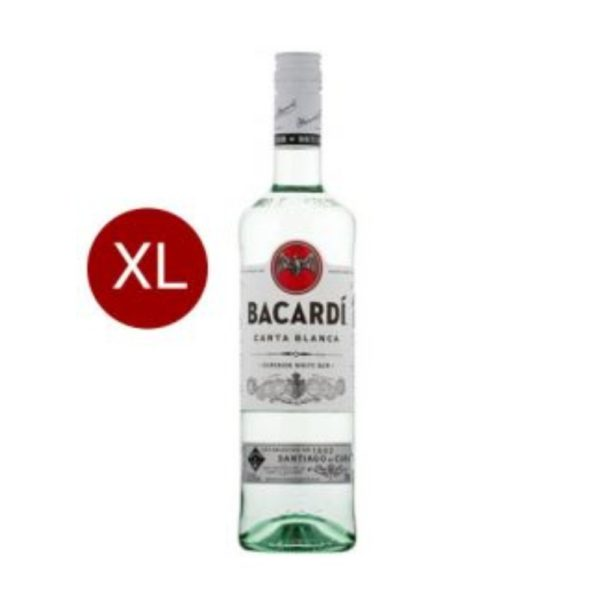 Bacardi Carta Blanca 3.00 37.5%