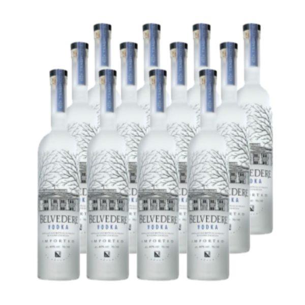Belvedere Vodka 12 x 0.05 40%